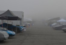 Cars in Mist