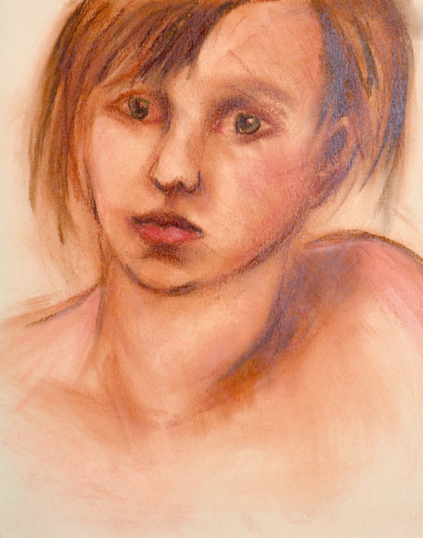 Portrait in Chalk