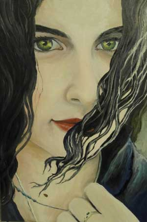 Shayli, Oil on Canvas